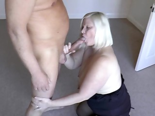 AgedLovE Grown-up Lady Lacey Starr Sucking Eternal Dick