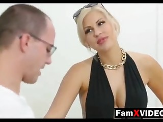 Steamy mommy pummels son-in-law and trains daughter-in-law - Total Free Dam Stick out Movies at FamXvideos.com