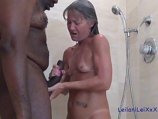 Granny slut with the addition of black guy