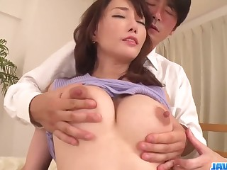 hot sexual relations with breasty japanese MILF