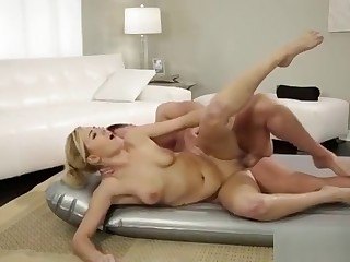 Gorgeous Summer Gives Massage And Fucked