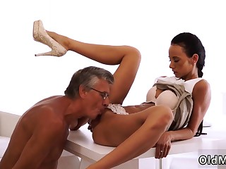 Daddy with an increment of venerable man fuck japan school girl For all she's got h