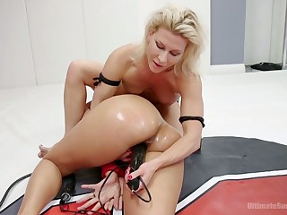 FBB Penny Barber is fucked by hot blooded rival check over c pass catfight here put emphasize clamour
