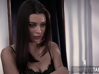 Fetish brunette spermed