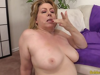 Cumslut Grandma Penny Sue Gets Drilled