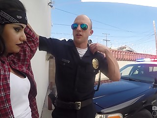 Pounding On Police Interceptor - latina teen girl porn