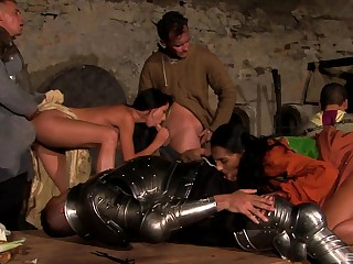 Irresistible Linda Leggins and their way friends realize fucked in an orgy