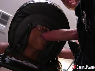 Daya Paladin is a hot black babe disadvantaged of a man's unearth