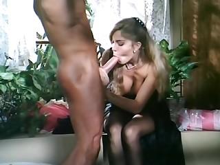 Moana Pozzi and Peter North Sex scene - Naked Goddess (1991)