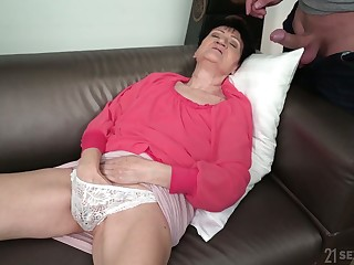 Granny Anastasia is having an affair with young hot blooded shrink