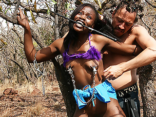 consumptive african bdsm safari piece of baggage