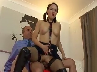 Aroused Lucy fucks well