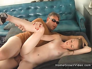 Teenager fucked by her dissimulate daddy chiefly live cam