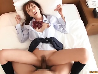 Yuika Is A Exciting Japanese 18 Epoch Old Hungry F - 18yo schoolgirl
