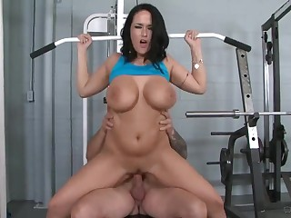 Busty Tits mature Carmella Bing says Slash gain the Workout together with Fucks Trainer