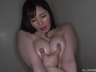 Home amateurish glaze with big natural tits Fujishiro Momone getting fucked