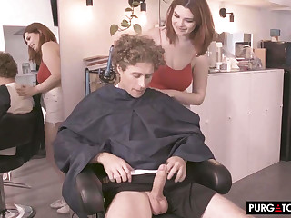 Annabel Redd And Violet Myers 4Some Porn Video