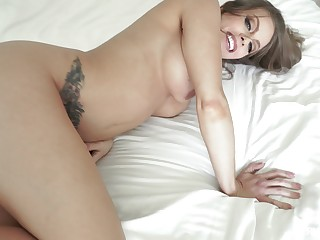 Obese dick in mommy's ass after she sucks in POV