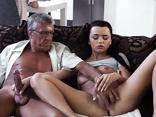 Elderly man ass fuck and very granny What would you choose -
