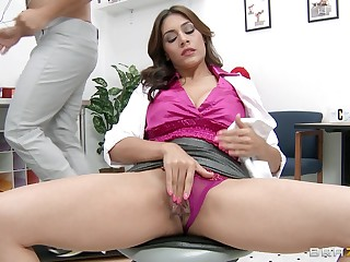 Big dick destroys pussy increased by tight botheration of matured pornstar Raylene