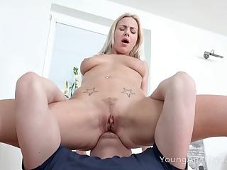 Mila loves having the brush ass eaten plus fucked good plus she's straight up sizzling