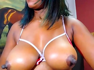 Fat Norwegian ebony in the first place webcam