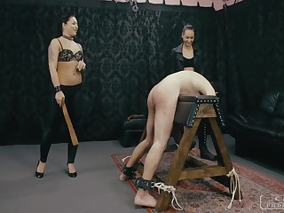 CRUEL PUNISHMENTS - Lint Doldrums and her lesbo friend