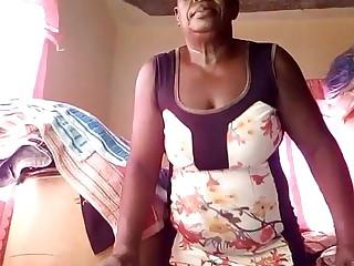Haitian ebony granny