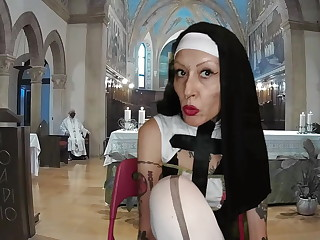 Sister Nun Miss Wagon Vegan - The mass of burnish apply fetishists