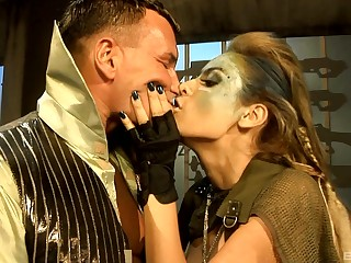 Hot aggravation amateurish Regina Knob gets fucked in all of her holes