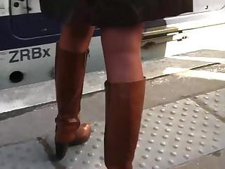 XXX legs in high boots